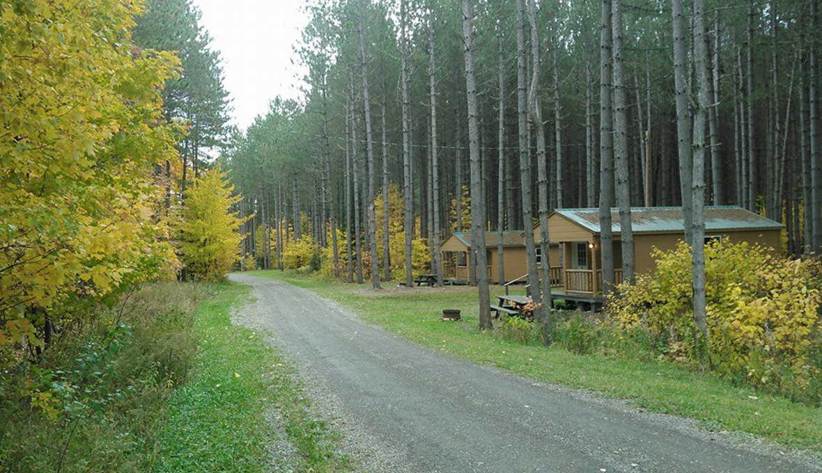 Cabins 4 through 6